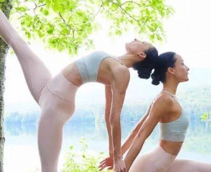 有一个练瑜伽的闺蜜,是怎样一种体验?