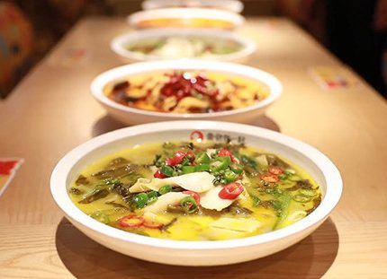 好吃的鱼你在一起快餐酸菜鱼哪里能吃到?