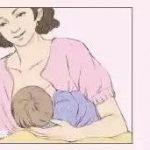 母乳喂养过程中,什么姿势是正确的?