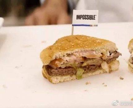 汉堡王正式销售人造肉