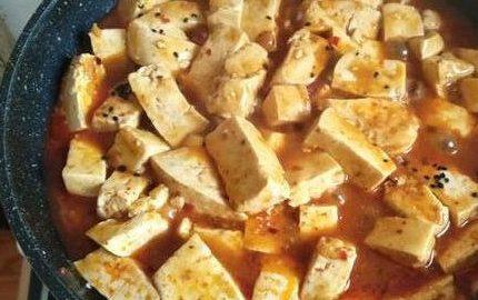 补钙的麻婆豆腐