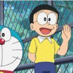 《哆啦A梦》中脱下眼镜的大雄,居然这么帅