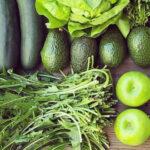制作冷压果汁中水果和蔬菜的处理方式