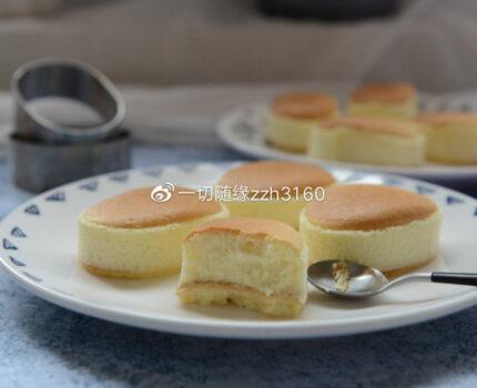 口感湿润细腻的半熟芝士蛋糕