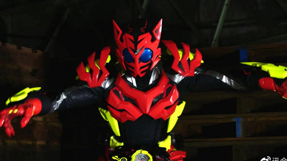 《假面骑士零一》燃焰老虎形态,热情似火!