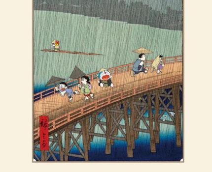 售价5万!《哆啦A梦》主题浮世绘画发售