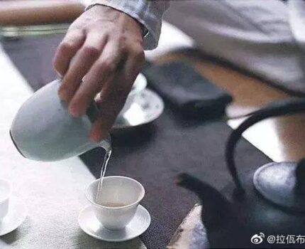 你泡茶洗茶不?