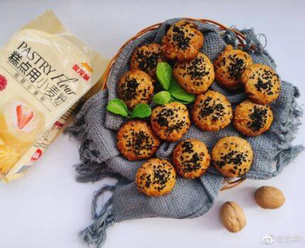 #烘焙有方生活有味#枣泥燕麦桃酥