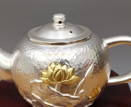 手工银壶适合泡什么茶?是否会影响茶汤味道?