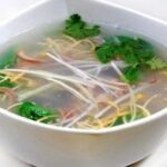 酸辣肚丝汤,家里有啥用啥型做法,虽然低配,喝起来味道也不错