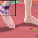 没想到水王子也有调皮的时候,他竟然把脚链送给了王默做头饰