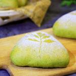 春日里的一抹绿——艾香奶酪面包