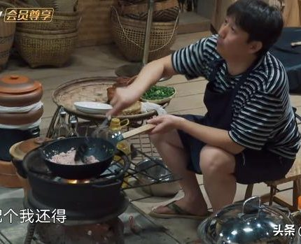 黄磊为周迅做了十几道菜 全都是硬菜 酱肘子、包烧鱼、汽锅鸡等