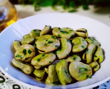 5月别错过吃它,葱油一炒,清香软糯,做法简单厨房小白一看就会