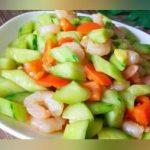 虾仁和黄瓜这么做,做法简单,口感清淡