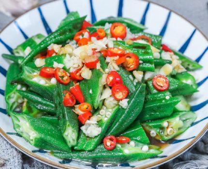 这才是秋葵最简单的做法,切一切,拌一拌,清脆爽口怎么吃都不腻
