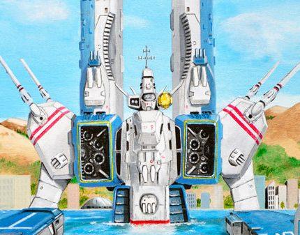 太空堡垒官方授权主题艺术画正式上线