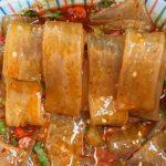 火锅里最好吃的麻酱流汁宽粉,煮完一拌美到爆