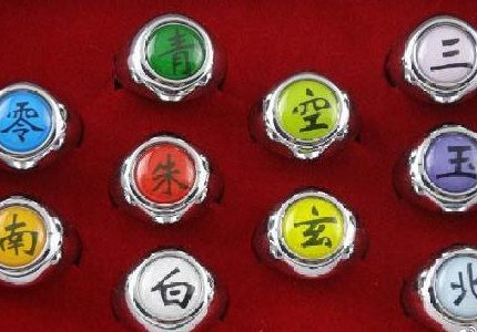 《火影忍者》最帅天团晓组织,十戒可没有那么简单,你能认出几个