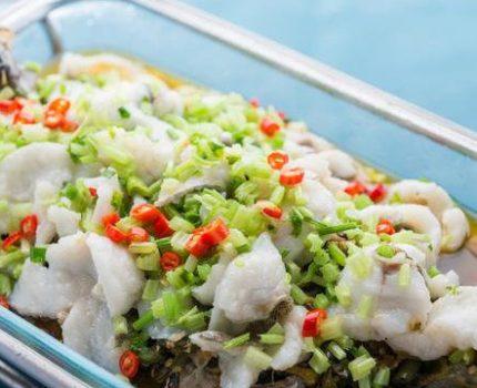 清爽鲜醇的姜汁鳜鱼,造型生动口味上乘,大气美食做法不难