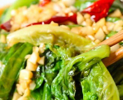 10分钟就开饭!健康营养不增胖,生菜百吃不腻的做法