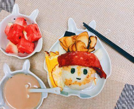 【食记】本来想做个兔斯基的饭团,一不小心做成了海贼王的模样!