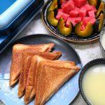 母女俩极简早餐走红,不用烤箱不开火,做法简单营养均衡,很舒服