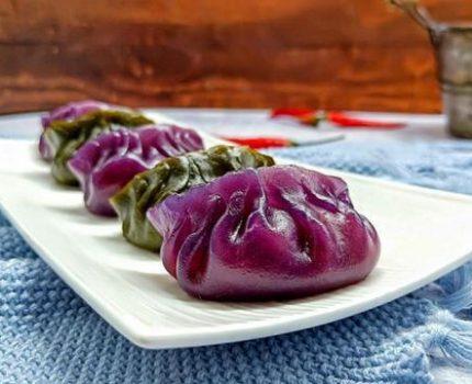 用蔬菜汁做水晶饺子,营养健康没添加剂,家里7岁孩子能吃一大碗