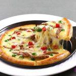牛肉披萨、榴莲披萨、鲜虾披萨、鸡肉披萨的家常做法,超美味