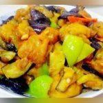 美食严选:双椒烧茄子,麻婆蒸蛋,虾酱空心菜,茄子焖排骨的做法
