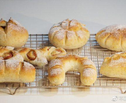7种面包整形诀窍,1把剪刀就能搞定!
