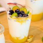 夏日水果酸奶杯,高颜值又好喝!