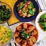 端午假期第二天,巧手媳妇做了5道菜,有荤有素,朋友却说太素了