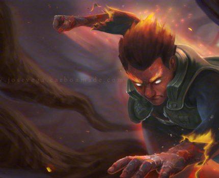 美漫风格的「火影忍者」,代入感超强,原来这就是外国大神的实力