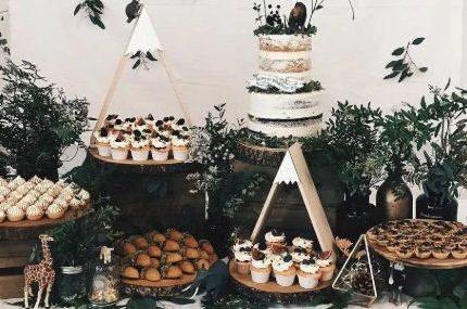 甜品台才是婚礼的门面!打造明星级甜品台就这么简单!