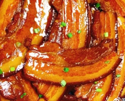把子肉,油而不腻,瘦肉筋道,比红烧肉还带劲