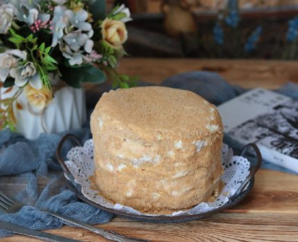 蜂蜜味的蛋糕 来自俄罗斯的美食 俄罗斯提拉米苏