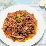 洋葱爆炒羊肉的做法是什么?