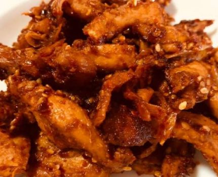 低脂好吃的零食——鸡胸肉
