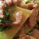 """有助于减肥清脂,适合""""三高""""人群食用的美食---绿萝牛柳"""