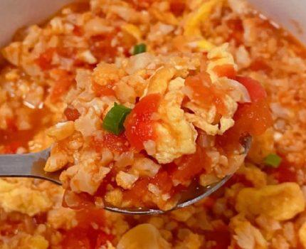 无米番茄烩饭,简单又好吃