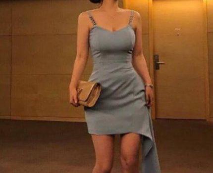 韩国健身达人,细腰宽胯,紧身服勾勒好身材