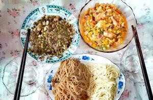 周末的午餐和儿子共享,再来个下午茶,这惬意的小生活羡慕不!