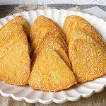 新手也能做的三角椰蓉酥,承包本月零食~