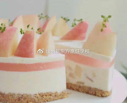 【烘焙课堂】试过18种桃子甜品,这款蜜桃慕斯最好吃!