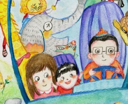 小图的日常——在画里慢慢长大了 #儿童插画