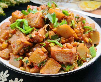 这食材冷热都好吃,炒着最美味,比魔芋豆腐更细嫩,多吃不长肉!