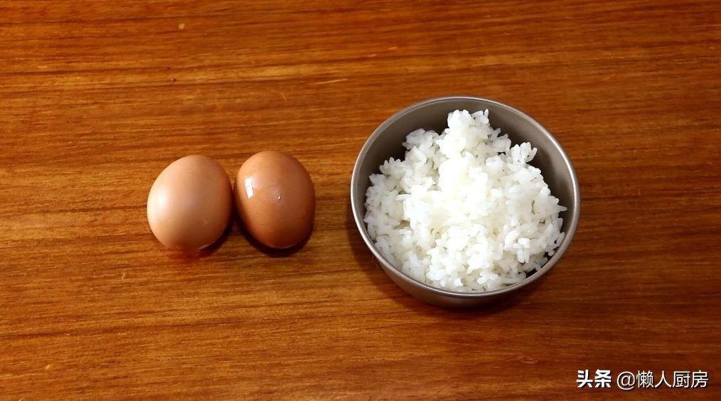 别只会给孩子买零食吃,用蛋清和米饭就能做米饼,没有添加剂