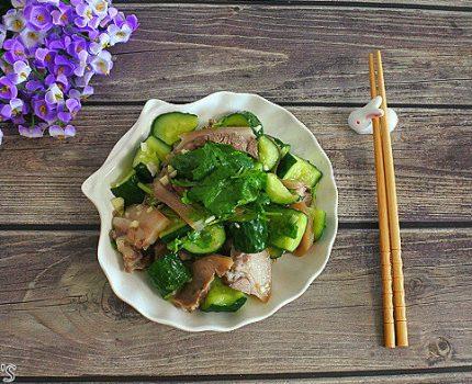 黄瓜拌头肉,好吃好做的经典北方凉拌菜