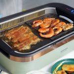 把烧烤搬回家,无油无烟,大宇电烧烤炉SK1不一样的滋味!